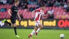Edison Flores se lució con una asistencia en la goleada del Aalborg