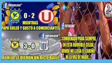 Alianza Lima en la mira de los memes tras perder 3-0 ante Comerciantes Unidos