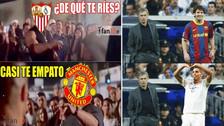 Manchester United es víctima de memes tras perder contra Sevilla