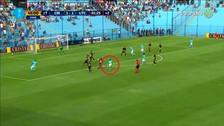 Sporting Cristal: Fernando Pacheco anotó golazo desde 20 metros de distancia