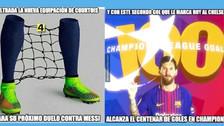 Barcelona goleó a Chelsea en Champions y está en la mira de los memes