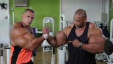 Los hermanos fisicoculturistas que son comparados con 'Hulk'