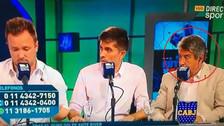 Periodista argentino se quedó dormido en pleno programa