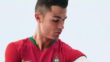 Con Cristiano Ronaldo: Portugal presentó su camiseta para Rusia 2018