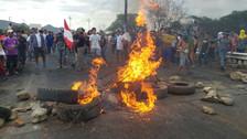 Pobladores de Olmos exigen solución de lo contrario amenazan con huelga