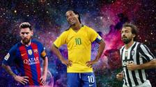Las grandes humillaciones de Ronaldinho a otros cracks del fútbol