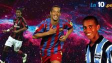 Los 8 equipos donde Ronaldinho lució su magia [FOTOS]