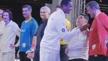 Diego Maradona: Patrick Kluivert lo ignoró y le negó el saludo