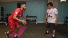 Video   Así se recupera Pedro Gallese para llegar al Mundial de Rusia 2018