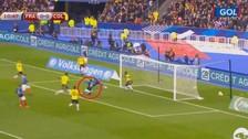 Con error de Ospina: Olivier Giroud anotó un gran gol ante Colombia