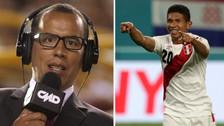 Hinchas hicieron que el gol de Edison Flores sea narrado por Daniel Peredo