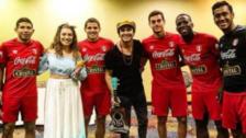 Jugadores de la Selección Peruana disfrutaron de 'Periko y Jessi Leon'