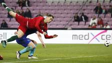 Se cayó solo y protestó como loco: así la pasó Cristiano Ronaldo ante Holanda