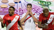 Los 10 futbolistas más caros de la Selección Peruana rumbo a Rusia 2018