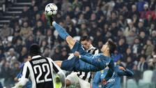 ¡Espectacular! Cristiano Ronaldo anotó el primer gol de chalaca en su carrera