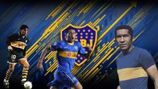 El once histórico de Boca Juniors con Riquelme, Maradona y Meléndez