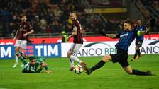 Sólo y en los descuentos: el increíble fallo de Mauro Icardi ante el Milan