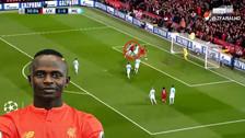 Video | El excelente centro de Salah que terminó en golazo de cabeza de Mané