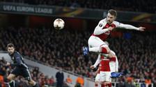 De taco y con tiki-taka: el golazo de Aaron Ramsey al CSKA Moscú