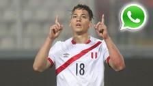 Benavente fue agregado al grupo de WhatsApp de la Selección Peruana