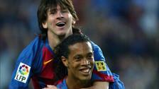 Lionel Messi igualó récord de Ronaldinho con la camiseta del Barcelona