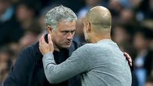 Así fue el frío saludo entre José Mourinho y Pep Guardiola