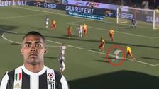 Douglas Costa eludió a dos rivales y anotó un golazo desde fuera del área
