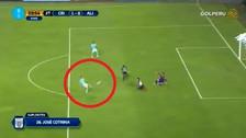 Gabriel Costa se perdió un gol increíble ante Alianza Lima