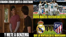 Real Madrid es víctima de memes tras empatar con el Atlético de Madrid