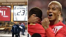 La sorpresa de André Carrillo al ver su nombre al lado de estrellas del fútbol