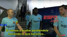 La frase de Andrés Iniesta que se adelantó al fracaso de Barcelona