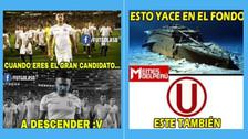 Universitario es víctima de los memes tras perder ante Alianza Lima