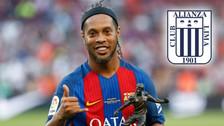 El mensaje de Ronaldinho que alegró a todos los hinchas de Alianza Lima