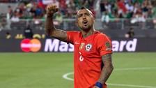 Así celebró Arturo Vidal el gol de Chile a Perú en la Copa América