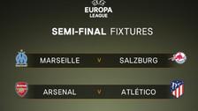 Sorteo de Europa League: final adelantada con un Atlético-Arsenal en semifinales