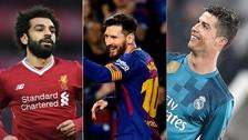 Salah supera a Messi: los 10 máximos goleadores rumbo a la Bota de Oro