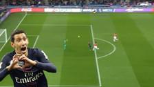Di María anotó un golazo y el PSG se consagró como campeón de Francia