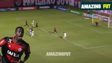 Vinicius Jr dio la asistencia para el gol más rápido en la historia del Flamengo