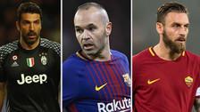 Los 10 jugadores activos con más temporadas en un mismo equipo