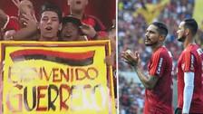 Hinchas del Flamengo recibieron a Paolo Guerrero en su regreso al Maracaná