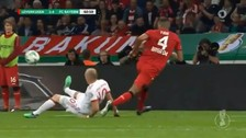 El insólito pase de Arjen Robben que terminó en gol de Bayern Munich