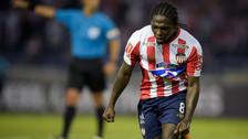 Entró como en su casa: Yimmi Chará anotó de cabeza ante Alianza Lima