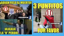 Universitario es víctima de los memes tras perder ante Ayacucho FC