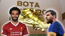 Mohamed Salah alargó su diferencia con Messi rumbo a la Bota de Oro