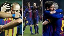 El gran detalle de Lionel Messi a Iniesta en la Copa del Rey