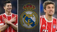 Los 7 jugadores del Bayern Munich que no pudo fichar el Real Madrid