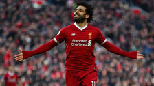 Modo 'Dios': el gran doblete de Mohamed Salah ante la Roma