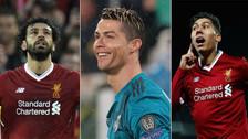 Con Mohamed Salah: los goleadores de la Champions League