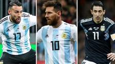 Los jugadores argentinos que estarán convocados para el Mundial Rusia 2018
