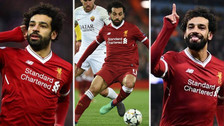 Los récords que Mohamed Salah consiguió tras su doblete a la Roma